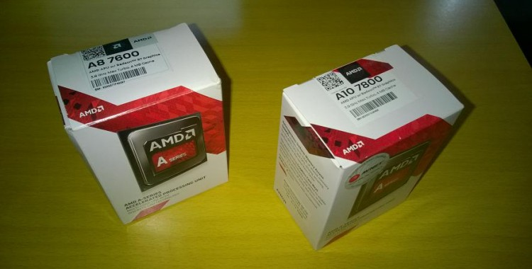 AMD A10-7800 and A8-7600 Review